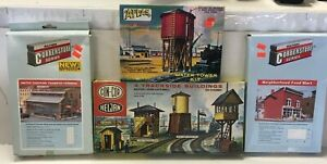 NIB-HO-Scale-Building-Structure-Kit-Lot-Atlas-ConCor-Heljan-Walthers-Cornerstone