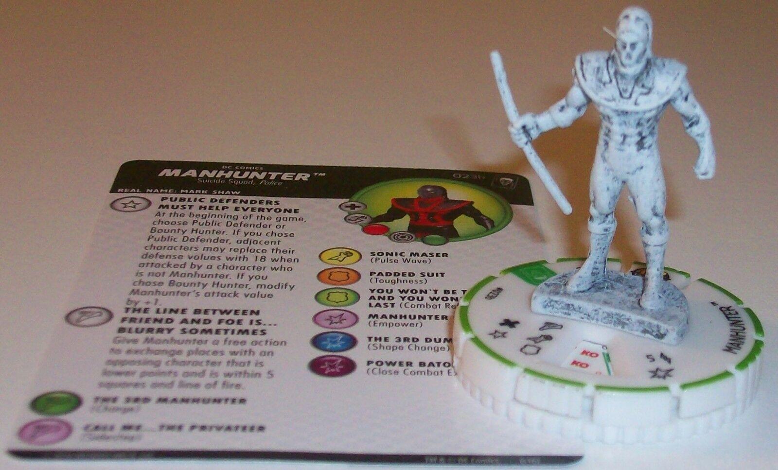 Sketch Variant MANHUNTER B The Joker's Wild DC HeroClix Prime