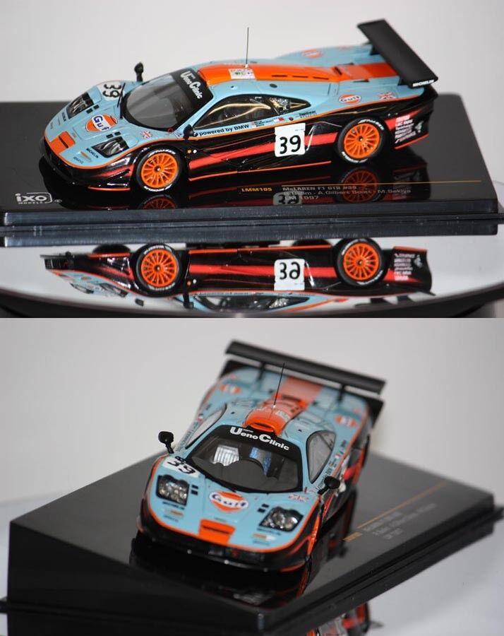 IXO McLaren F1 F1 F1 GTR 24h du Mans 1997 1 43 LMM105 a25bec