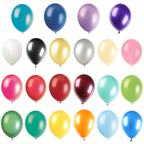 100/1000Pcs 10in Colorful Pearl Latex Balloon Celebration Party Wedding Birthday