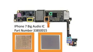 size 40 f3bf5 0553a Details about New Big Audio IC For iPhone 7 Part 338S0015 U3101 Repair  Motherboard Main IC