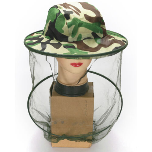 Travel Camping Kits Hats Mosquito Insect Hat Bug Mesh Head Net Face Protectorvbu