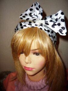 Polka Dots Punkte Haarband 60er Jahre Stil Rocknroll Retro
