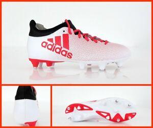 ADIDAS zapatos calcio X 17.3 SG CP9202 col.blanco ROJO NOIR enero ... 07e04bb8fe8d2