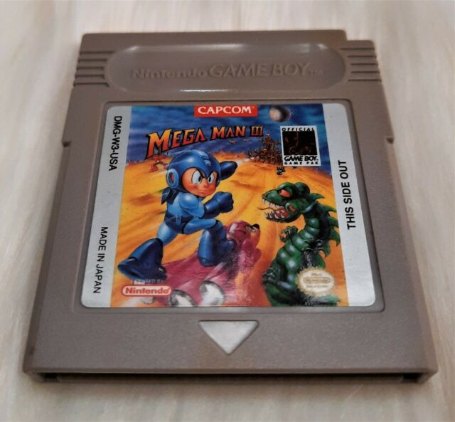Box With Insert Top Quality Mega Man Megaman Gameboy GB
