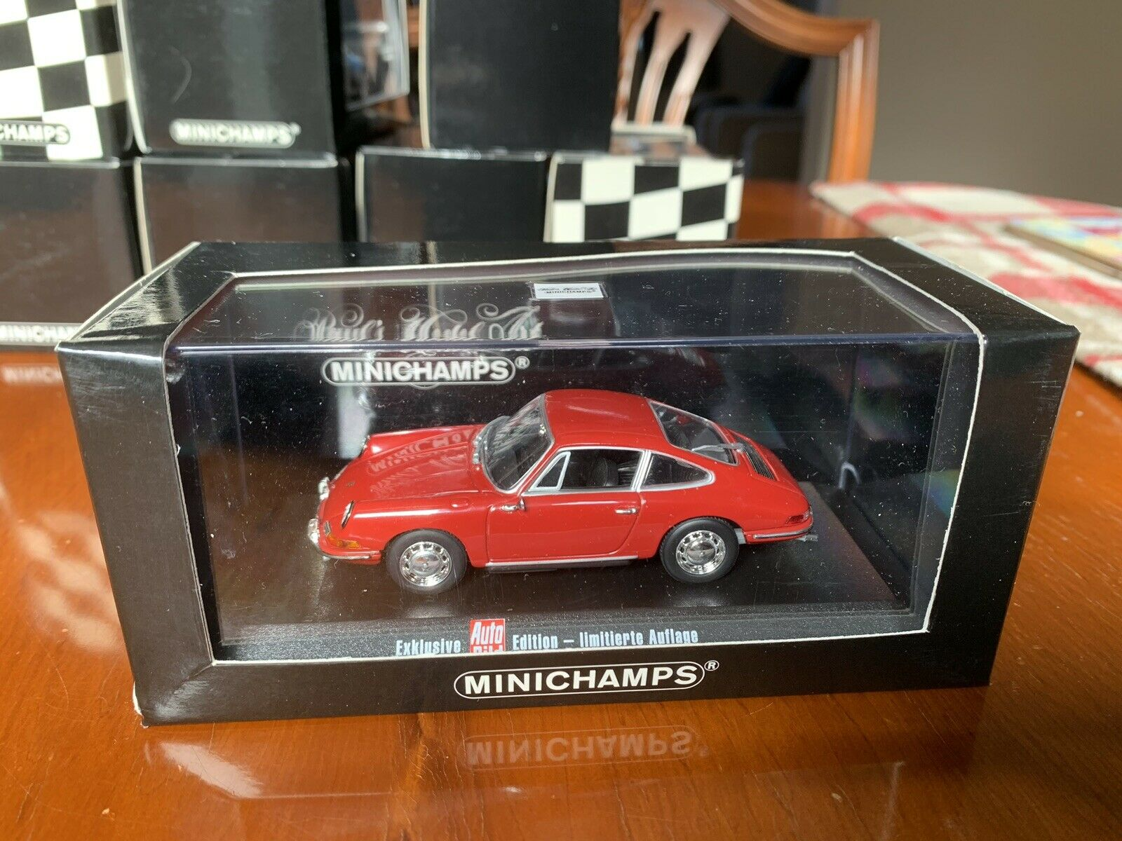 Minichamps Porsche 911 For 1964. Exclusive Auto Bild Edition. 1 43 Diecast.