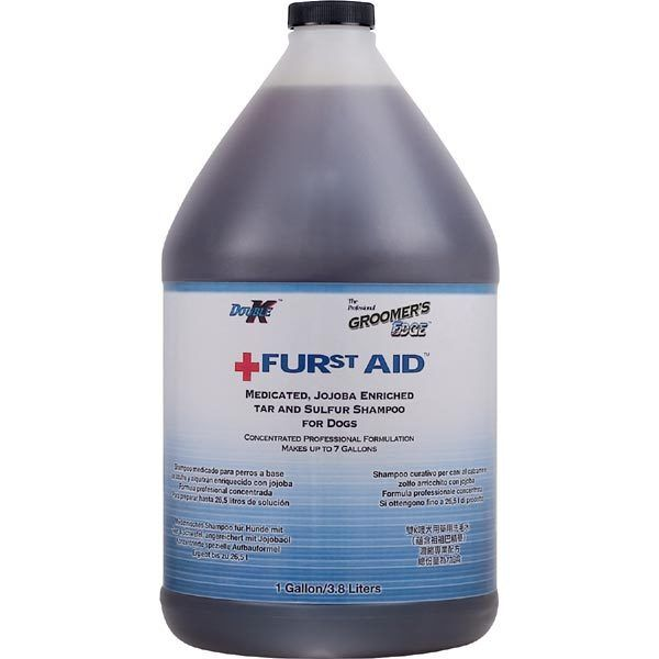 FURst Aid Dog Shampoo Medicated Itch Relief Heal Skin Relief Concentrate Gallon