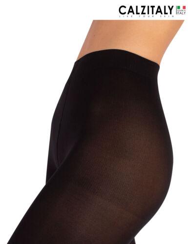 Pantacollant Elasticizzati 60 DEN Leggings in Microfibra Neri Donna S//M L//XL