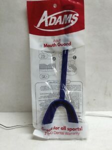 Adams Adult Mouth Guard New Great for All Sports