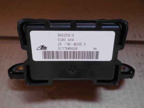 Chevrolet Captiva Vauxhall Antara 4x4 Lateral Acceleration Sensor Yaw Rate