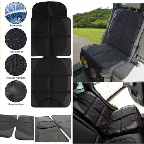 Baby Car Seat Safe Protector Mat Covers Under Child Seat Saver Cover Non-Slip UK