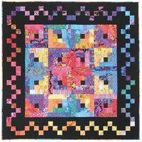 Mosaic Star Quilt Quilting Pattern, From Painted Pony 'n Quilts,new
