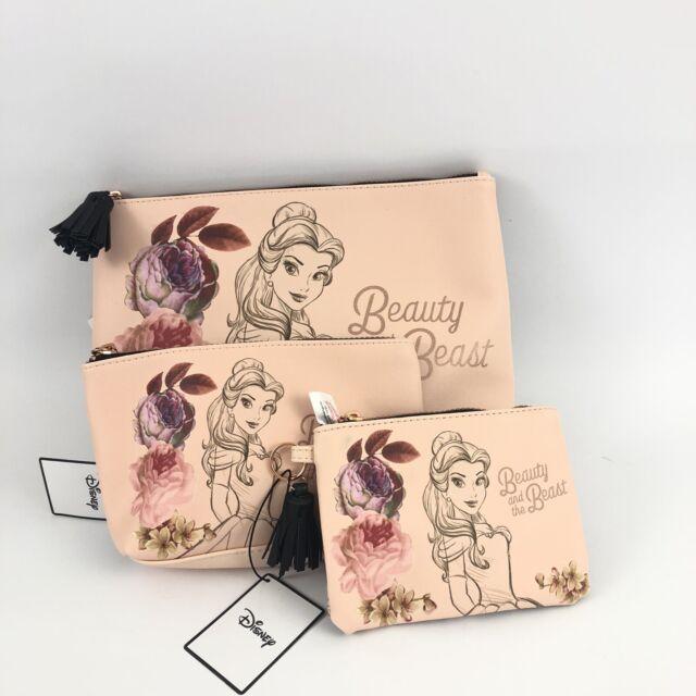 Beauty /& the Beast Disney Makeup Bag or Pencil Case Primark Belle Women/'s Ladies