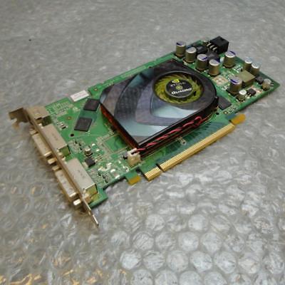256MB Dell T9099 0T9099 nVidia Quadro FX 3450 PCI-e Dual Head DVI Graphics Card