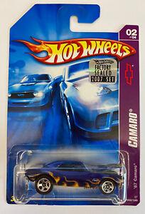 2007 HOTWHEELS 1967 67 Chevy Camaro, American Muscle! molto rara!