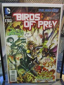 Birds Of Prey 8 Dc New 52 Comics Black Canary Katana Poison Swierczynski 9 4 Ebay