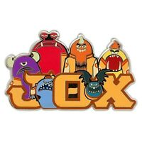 MONSTERS UNIVERSITY JAWS THETA CHI JOX FRATERNITY PIN COLLECT ALL SIX OF THEM!
