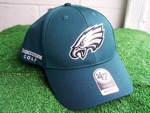 1a85d10d2b1 Image is loading Bridgestone-Golf-Philadelphia-Eagles-Green-golf-Hat-Cap-