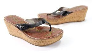 d230473dead8 Sam Edelman Romy Womens Sz 10M Platform Wedge Thong Sandals Flip ...