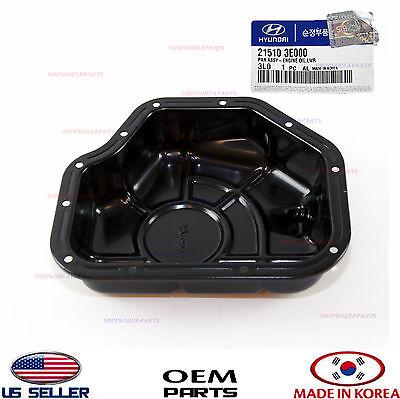 Genuine Hyundai 21510-3E000 Engine Oil Pan Assembly Lower