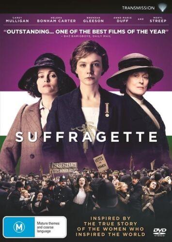 1 of 1 - Suffragette (Dvd) Biography Drama History Meryl Streep Brendan Gleeson x rental