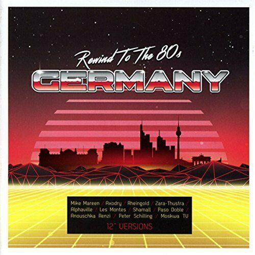 VARIOUS ARTISTS-REWIND TO THE 80S - GERMANY CD NEUF