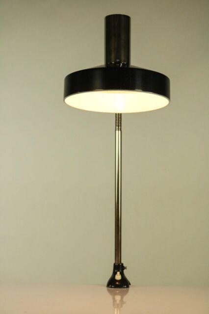 Kaiser Schwanenhals Leuchte Tisch Klemme Lampe 6893 Vintage Gooseneck 50er 60er