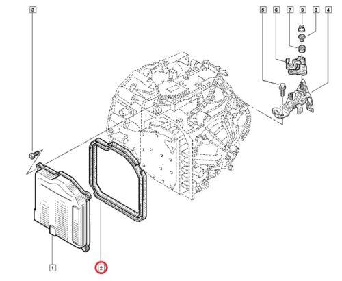 NEU Original RENAULT Getriebedeckeldichtung Automatikgetriebe DP0 AL4 220940