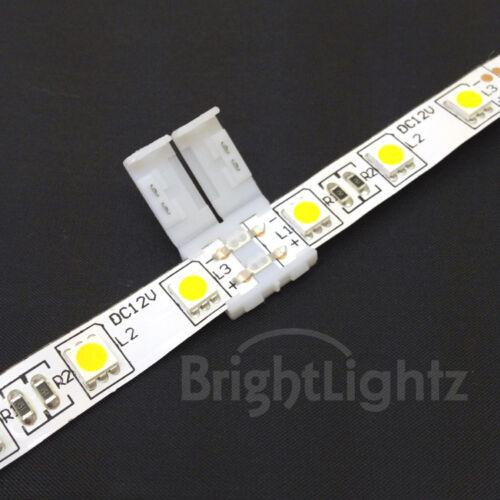 3528 /& 5050 LED STRIP LIGHT CONNECTORS SOLDERLESS CONNECTION JOINER TAPE PCB UK