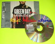CD Singolo GREEN DAY Holiday Ny 2004 WARNER MUSIC GROUP W66CD2  mc dvd (S6)