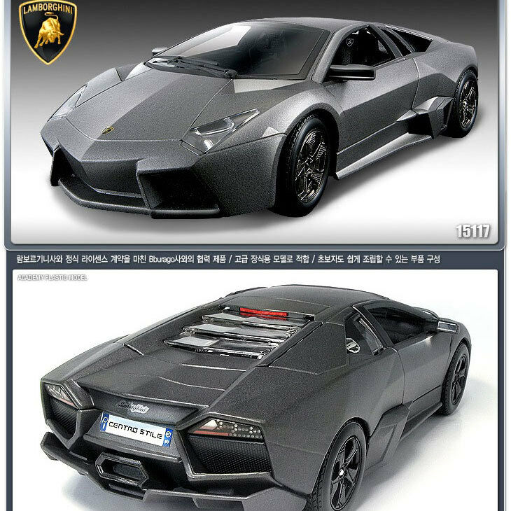 2012 Lamborghini Reventon Negro Plano 1 24 24 24 Diecast Model Car por Academia 15117 62d0de