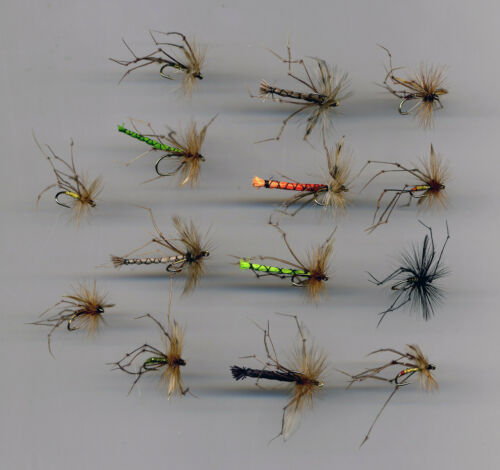 Trout Flies code 387 Daddies Collection x 14 size 14 hooks