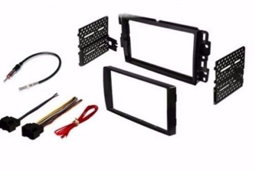 CAR STEREO DASH INSTALL KIT WITH WIRE HARNESS /& ANTENNA FOR CHEVY GMC PONTIAC