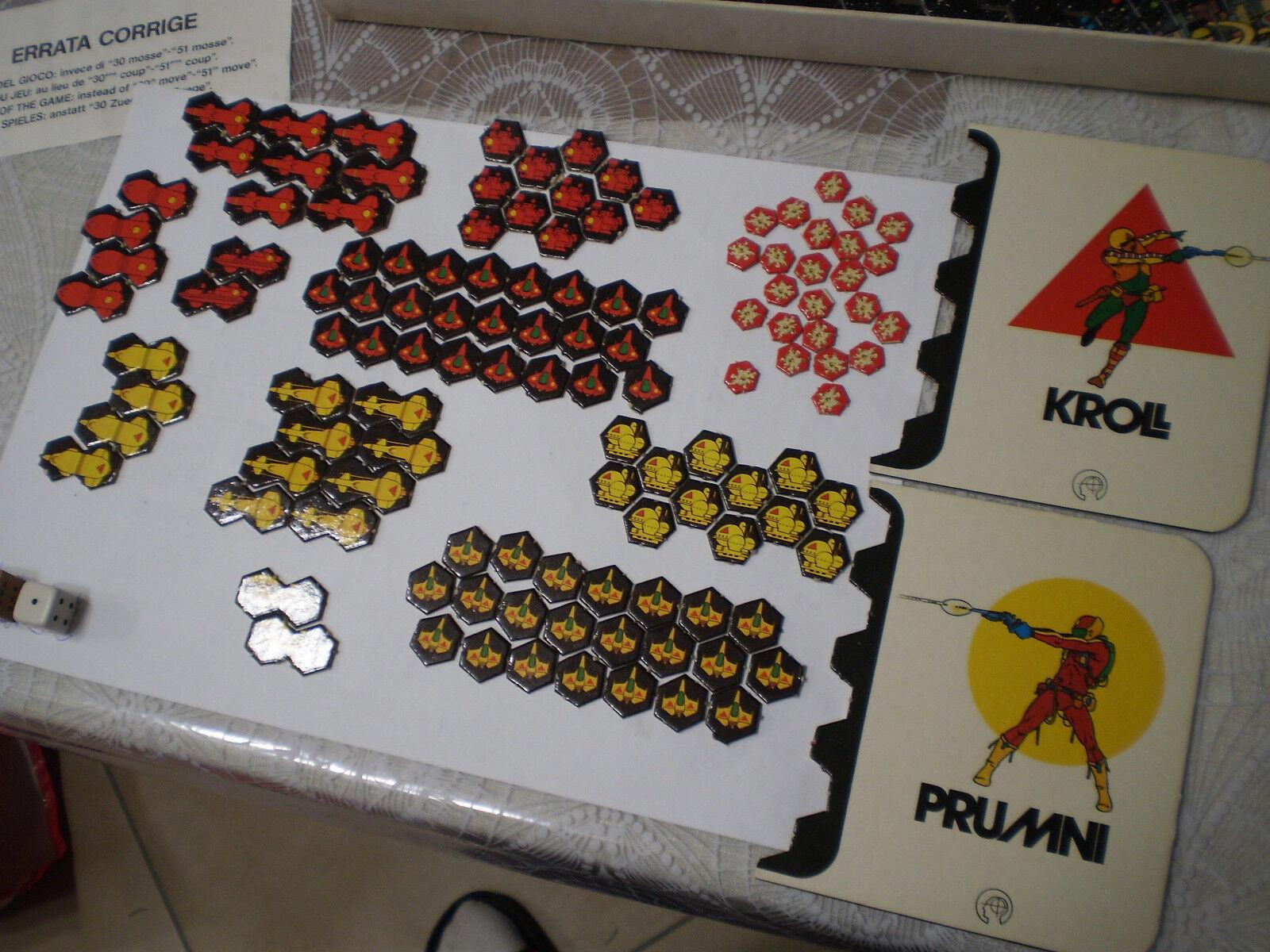 Kroll e e e Prumni - Simulation Games - gioco in scatola di società vintage e5646b