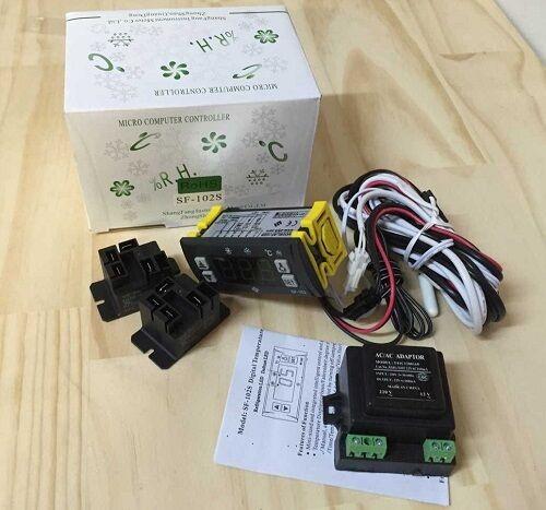 SHANGFANG digital temperature controller SF-102S -45~45℃ automatic defrost