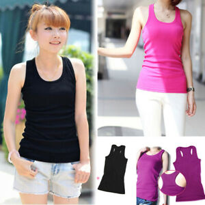 Fashion-Women-Sexy-Sleeveless-Solid-Color-Summer-T-Shirt-Basic-Vest-Tank-Tops