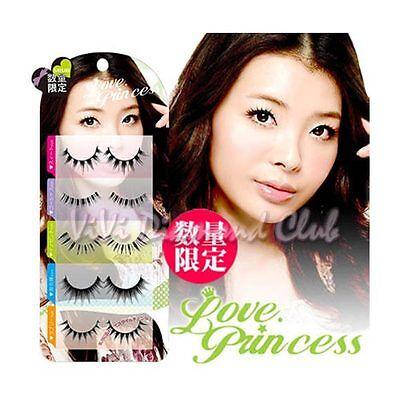 Japan Love Princess False Eyelashes Mixed Styles 5 pairs/box LIMITED EDITION #02