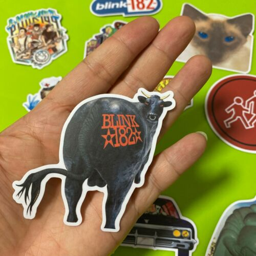 Blink 182 Stickers Set Enema Of The State Dude Ranch Cheshire Cat Vinyl Decals