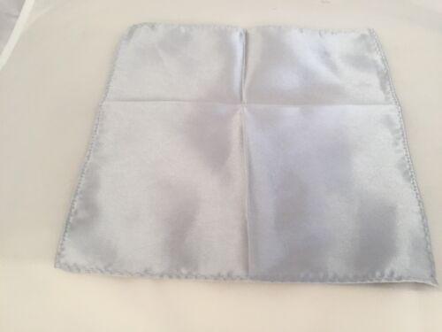 "Shiny Silver Grey Mens Polyester Tie-Necktie /& Hanky Set Skinny 2.5/"" =6cm Width"