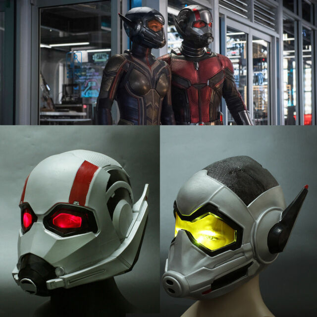 Avengers Ant-Man Latex Mask Full Head Helmet Halloween Party Cosplay Props