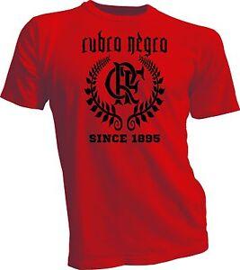 Image is loading Flamengo-Brasil-Futbol-Futebol-Soccer-T-Shirt-Camisa- 66705bab9ff52