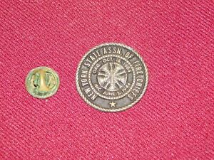 VINTAGE-PIN-PINBACK-NEW-YORK-STATE-ASSN-OF-FIRE-CHIEFS