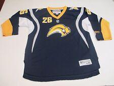 358aac35d item 3 REEBOK CCM NHL BUFFALO SABRES 26 THOMAS VANEK BLUE GOLD BOYS HOCKEY  JERSEY ...