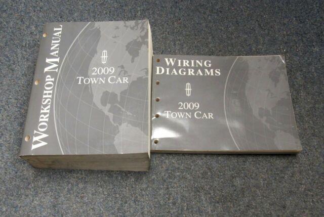 2009 Lincoln Town Car Service Workshop Manual Set