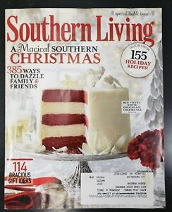 Southern Living Magazine Christmas 2013  Special December Collectors Edition