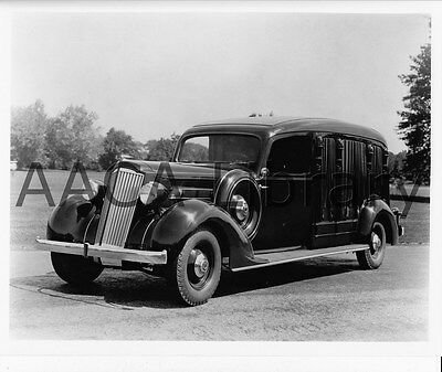 Factory Photo Ref. # 61782 1935 Packard Cunningham Hearse 361A Funeral Car