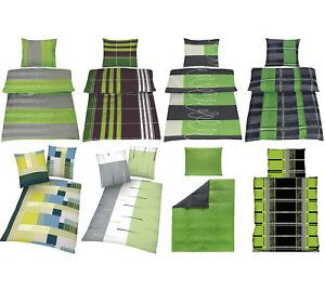 2-4-Tlg-Microfaser-Bettwaesche-Set-die-Gruenen-2-Groessen-135x200-155x220-cm