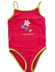 Sz 00,0,1,2,3-50+ Girls Floral Swimmer Suit