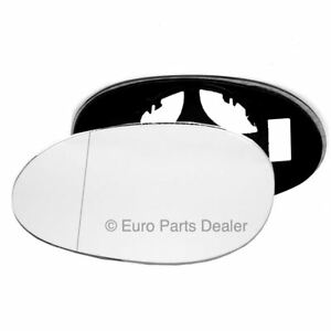 Left Passenger side Wing door mirror glass for Smart Fortwo 1998-2007