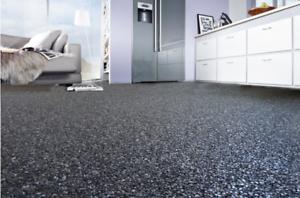 Steinteppich Set Marmor Harz 25 M Fugenloser Bodenbelag Innen Grosse